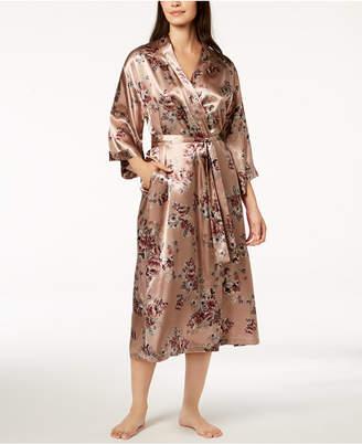 Thalia Sodi Floral-Print Charmeuse Robe
