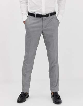 Esprit slim fit suit trouser in mini houndstooth