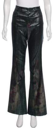 Tom Ford Metallic Flared Jeans