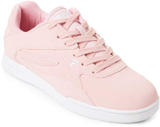 Fila Chalk Pink & White Amant Low-Top Sneakers