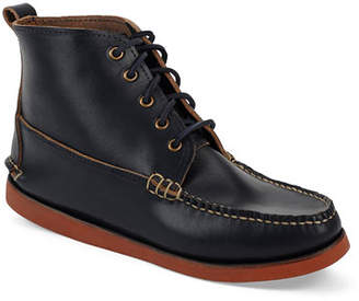 Eastland Seneca USA Camp Moc Chukka Boots, Navy