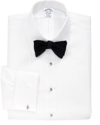 Brooks Brothers Regent Fit Ten-Pleat Tennis Collar Tuxedo Shirt
