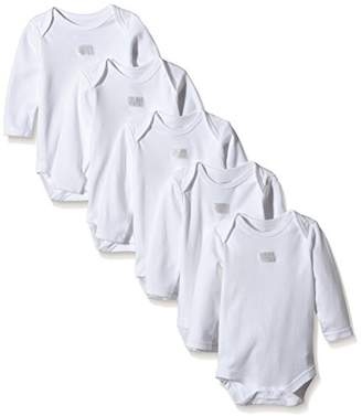 Mamas and Papas Baby 5 Essential Long Sleeve Bodysuit,Pack of 5