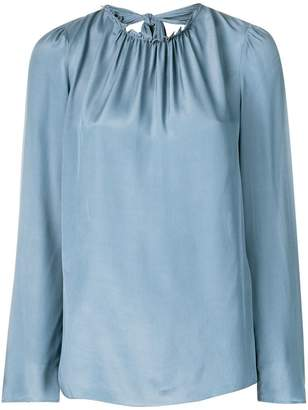 See by Chloe ruffle trim blouse