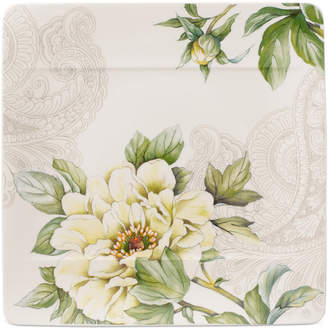 Villeroy & Boch Quinsai Garden Collection Peony Square Salad Plate