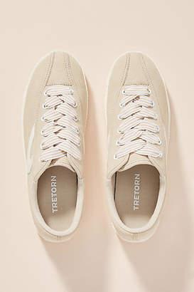 Tretorn Beige Nylite Sneakers
