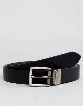 Ben Sherman Skinny Reversible Leather Belt