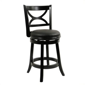 """Generic Florence Swivel Counter Stool 24"""", Multiple Colors"""