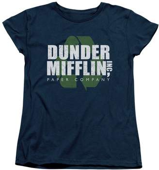 Office The Comedy Sitcom TV Series NBC Recycle Mifflin Women's T-Shirt Tee
