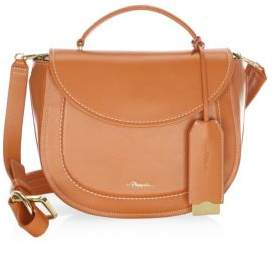 3.1 Phillip Lim Hudson Leather Top Handle Saddle Bag