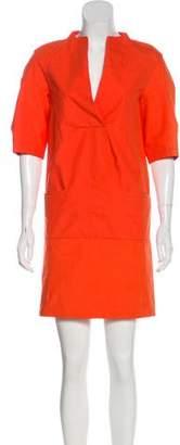 Marni Short Sleeve Shift Dress