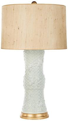 Barclay Butera For Bradburn Home Koi Fish Couture Table Lamp - Celadon/Gold