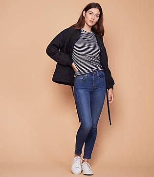 Lou & Grey High Rise Skinny Jeans