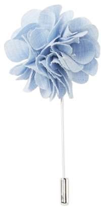 Original Penguin Brookline Solid Flower Lapel Pin