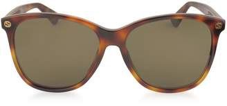 Gucci GG0024S Acetate Round Oversized Women's Sunglasses