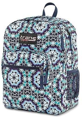 JanSport Trans by Backpack Supermax Navy Moonshine Moroccan Design