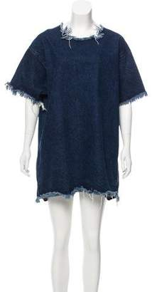 Marques' Almeida Fringe-Trimmed Mini Dress Official Site Cheap Online dDmJvOh