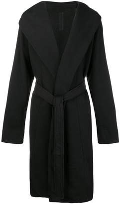 Rick Owens hooded robe cardigan