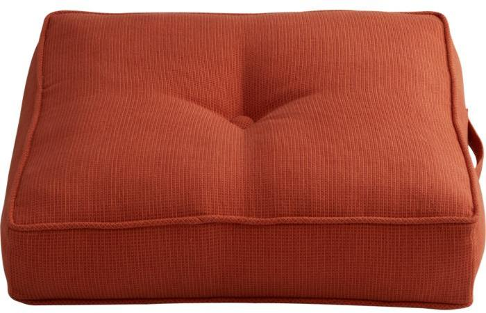 Henley Vermilion Floor Pillow