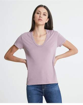 AG Jeans The Henson Tee - Pale Wisteria