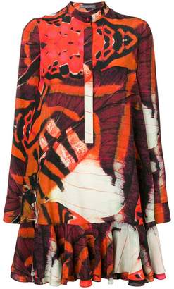 Alexander McQueen printed dress