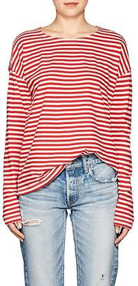 Current/Elliott Women's The Breton Striped Cotton T-Shirt