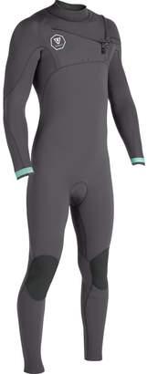 VISSLA The 7 Seas 4/3 Chest Zip Long-Sleeve Wetsuit - Men's