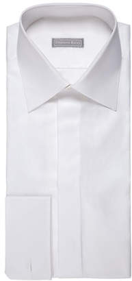 Stefano Ricci Solid Pique Dress Shirt