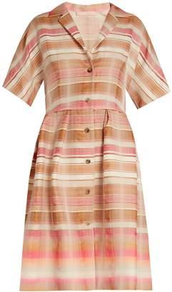 Brock Collection Donna striped-jacquard shirtdress