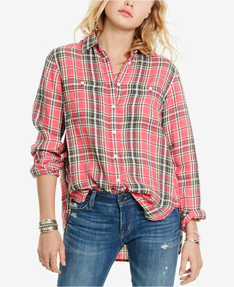 Denim & Supply Ralph Lauren Plaid Shirt $79.50 thestylecure.com