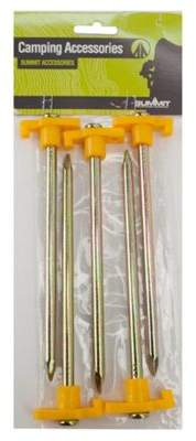Summit All Terrain Tent Pegs With Luminous Heads, Pack Of 5