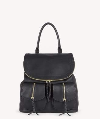 Sole Society Emery vegan leather backpack with front pockets