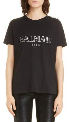 Balmain Logo Tee