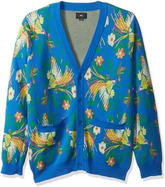 Obey Men's Paradise Cardigan Sweater