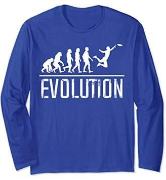 Ultimate Frisbee Evolution Long Sleeve T-Shirt