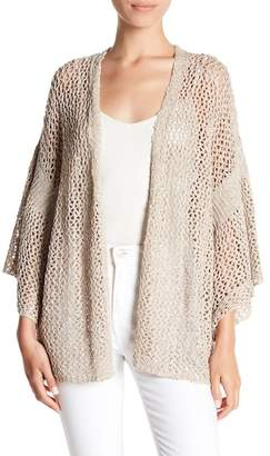 Susina Loose Knit Bell Sleeve Cardigan (Regular & Petite)
