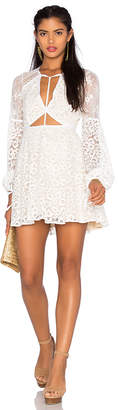 For Love & Lemons x REVOLVE Daisy Dress in Ivory $255 thestylecure.com