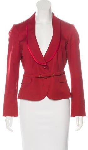 ValentinoValentino Wool Belted Blazer