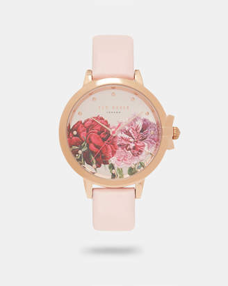 Ted Baker RAKAEL Palace Gardens printed dial watch