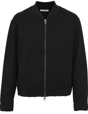Vince Jersey Bomber Jacket