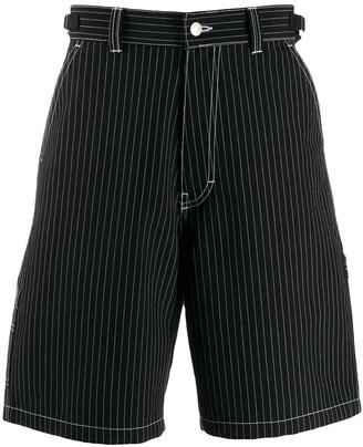 Ami Paris Worker Bermuda Shorts