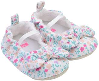 Carter's Baby Girl Floral Mary Jane Crib Shoes