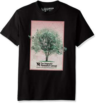 Lrg Men's Tree Grid Tee