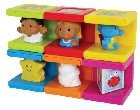 Safety 1st Safety First Cubikals Stack 'n Play 6 Block Set - Beach Set 3