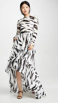 Philosophy di Lorenzo Serafini Zebra Gown