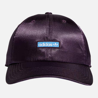 adidas Women s Precurved Relaxed Fit Metallic Strapback Hat 606a450ffbb