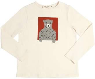 Nice Things Bear Printed Cotton Jersey T-Shirt