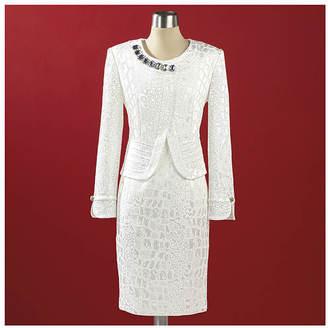 Jewel Brocade Jacket & Dress $134.95 thestylecure.com