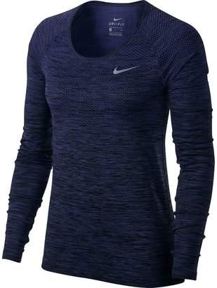 Nike Dri-Fit Knit Shirt - Long-Sleeve - Women's