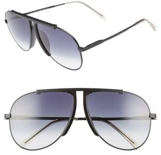 Celine 62mm Aviator Sunglasses